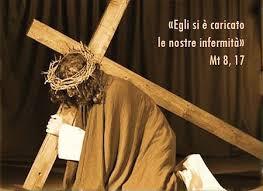 via crucis testo images