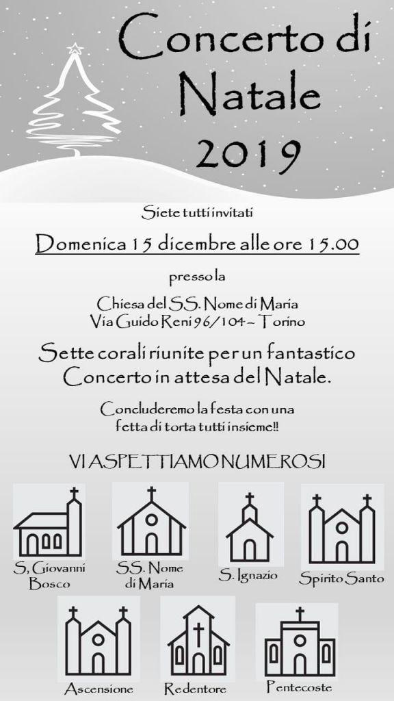 locandina concerto natale 2019